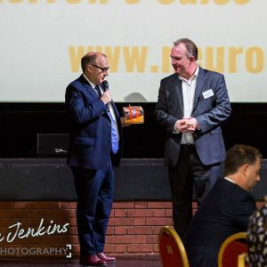 Jeremy Nicholas and Simon Hazeldine at Ambition 2017 Conference