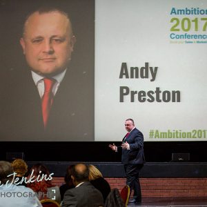 Andy Preston's presentation at Ambition 2017