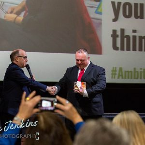 Andy Preston and Jeremy Nicholas at Ambition 2017