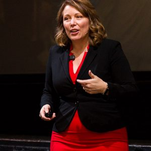 Julie Holmes speaking at Ambition 2017