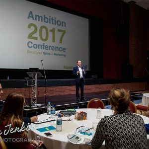 Andy Lopata speaking at Ambition 2017