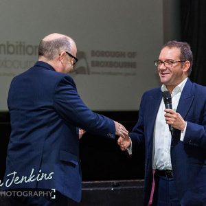 Andy Lopata and Jeremy Nicholas at Ambition 2017
